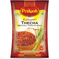 Prakash, Kolhapuri Thecha (Red Chilli- Garlic Chutney), 100 Grams(Gm)
