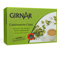 Girnar Instant Tea Premix Combo 8 Pack (Cardamom) Free Shipping