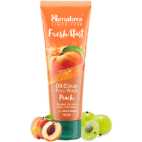 Himalaya Fresh Start Oil Clear Peach Face Wash Fruity Freshness 100ml -