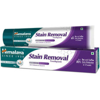 Himalaya Herbals Stain Removal Toothpaste-  80% Reduction -