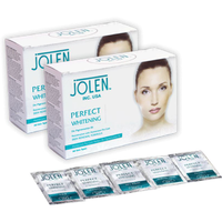 Jolen Perfect Whitening Instant Fairness Facial Kit 50g All Skin Types -