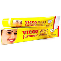Vicco Turmeric Ayurveda Cream Wso Skin Glow Fairness For Acne Pimples Boils -
