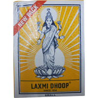 Laxmi Dhoop Sticks - Box Of 12 Packs, 8 Sticks Each -