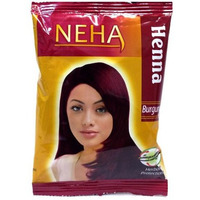 Neha Harbel Mehandi 20 Gm. (Pack Of 10) (Burgundy)