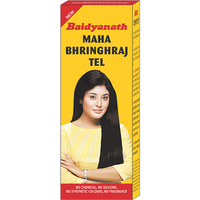 Baidyanath Mahabhringraj Oil Scalp Massaging Oil 200 Ml