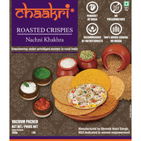Chaakri Roasted Crispies Nachni Khakhra 200gm