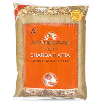 Aashirvaad Select Superior Sharbati Whole Wheat Atta, Aashirvaad Atta, King of Wheat, Product of India (10lb)