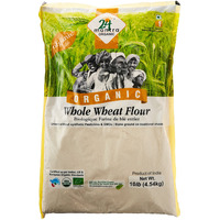 24 Mantra Organic Whole Wheat Flour 10 lbs