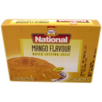National Jelly Crystals - Mango 80 gms