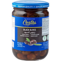 Cortas Black Olives 22 Oz