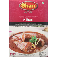 Shan Seasoning Mix For Nihari 60 gms