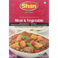 Shan Seasoning Mix For Meat & Vegetable 100 gms