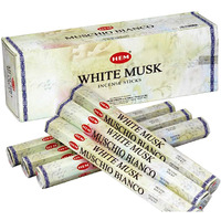 Hem White Musk 6 pks of 20 sticks