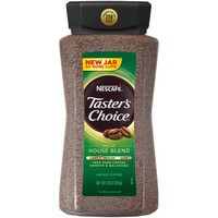 Nescaf Tasters Choice Lt Med House Blend  Decaf Instant Coffee 14 Oz