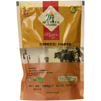 24 Mantra Organic Turmeric Powder 7 Oz