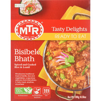 MTR Ready To Eat Bisibele Bhath 300 gms