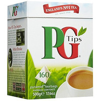 PG Tips Original 160 pyramid teabags