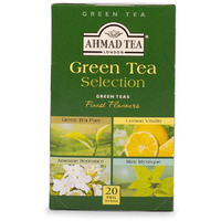Ahmad Tea Green Tea Selection 20 foil teabags