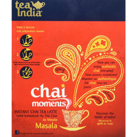 Tea India - Chai Moments instant tea latte - Masala 10 sachets