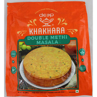 Deep Khakhra- Double Methi Masala 200 gms