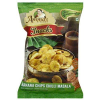 Amma's Kitchen -Banana chips chilli msala 200 gms