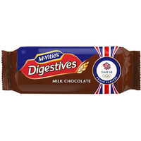 Mcvites Digestive Biscuits -Milk Chocolate 266 gms