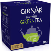 Girnar Green Tea Bag Combo 4 Pack (Green Tea)