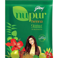Godrej Nupur Henna Powder With Herbs Hair Color 100% Natural 120g Free Shipping