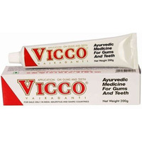 Vicco Vajradanti Herbal Tooth Paste Gums Pain - 200g Free Shipping