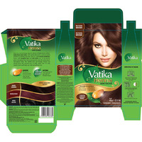 Dabur Vatika 100% Natural Henna Hair Color Creme Kit - Natural Brown