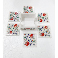 Square Coaster Set Inlay