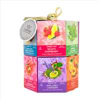Turyaga 96ct Gift Tea Box with Flavoured Green and Black