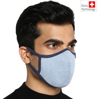 Swiss technology Anti virus kills 99% corona virus. Proven effective against SARS Cov 2 at the prestigious Australian Institute. G99 Reusable mask (size M) fits people (33-64kg) (Size: M, Color: Multi)