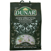 Dunar Elonga Basmati Rice, 10-Pounds