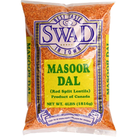 Swad Masoor Dal, 4-Pounds