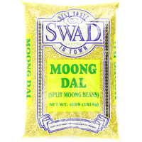 Swad Moong Dal Beans, Split, 4-Pounds