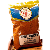 TAJ Premium Indian Red Chilli Powder Fine, 800gm