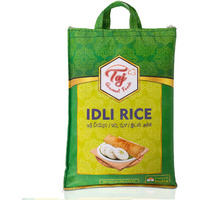 TAJ Gourmet Idly Rice, Idli Rice, Short Grain Rice, 10-Pounds