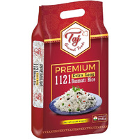 TAJ Premium 1121 Basmati Rice, Extra Long Grain
