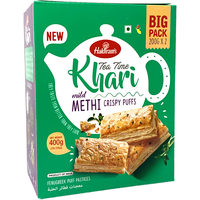 Haldiram's Tea Time Khari Mild Methi - 400 Gm