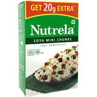 Nutrela Soya Mini Chunks - 200 Gm
