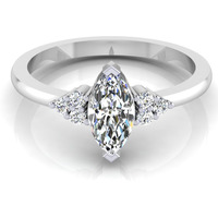 Marquise Shape Diamo ...
