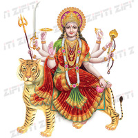 Indian Lord Jai Matadi Durga Poster