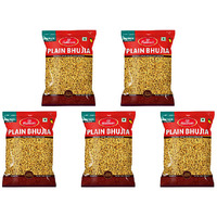 Pack of 5 - Haldiram's Plain Bhujia - 400 Gm