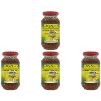 Pack of 4 - Mother's Recipe Andhra Lime Pickle (In Lime Juice) - 300 Gm