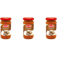 Pack of 3 - Aachi Ginger Pickle - 300 Gm