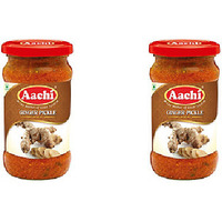 Pack of 2 - Aachi Ginger Pickle - 300 Gm