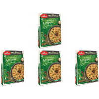 Pack of 4 - Haldiram's Ready To Eat Hyderabadi Biryani - 200 Gm