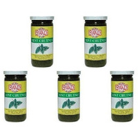 Pack of 5 - Swad Mint Chutney - 7.5 Oz