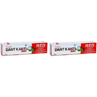 Pack of 2 - Patanjali Dantkanti Red 100 Gm